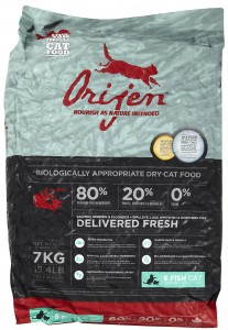 Orijen 6-fish cat food