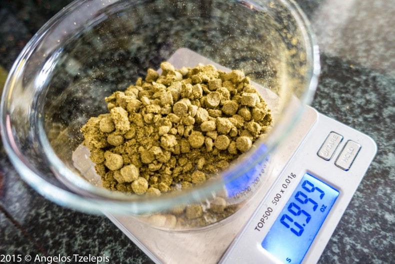 Ounce of Galaxy hops